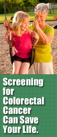 Screening for colorectal cancer can save your life.